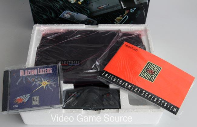 Details zu NEC PC ENGINE TURBOGRAFX KONSOLE + 9 GAMES (u. a. GALAGA